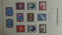 Album Des Nations Unies De 1951 à 1970 + Drapeaux. Bel Ensemble !!! - Colecciones (en álbumes)