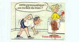 Illustrateur Alexandre - Humour Tous En Forme   AW 295 - Humour