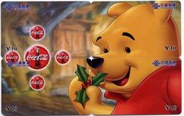 Puzzle Disney Winnie The Poch Coca Cola  - 4 Télécartes  Phonecard - Canada