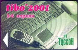 Used Phone Cards Belarus TIBO-2001 750 ED. - Belarus
