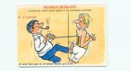 Illustrateur Alexandre - Humour Heureux Retraités    AW 312 - Humour