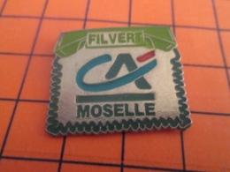 1319 Pin's Pins : BEAU ET RARE : Thème BANQUES / CREDIT AGRICOLE MOSELLE FILVERT - Banche
