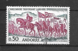 Charlemagne Traversant L'Andorre. N°167 Chez YT. (Voir Commentaires) - Andorre Français