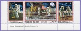 Dubai  1969. United Arab Emirates. Space.   Apollo 11.  MNH - Espace