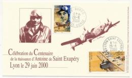 France - Célébration De Centenaire De La Naissance D'Antoine De Saint Exupéry - Lyon 29/06/2000 / Borgo - Lyon - France