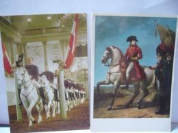 LOT DE 10 CPM  THÈME CHEVAUX ET CAVALIERS  LOT NUMÉRO 6 - Postcards