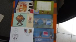 63 Enveloppes 1er Jour De SUISSE PORT OFFERT (lettre Verte)  Si Ce Lot Dépasse Les 8 Euros Soit 13cts/pièce - Timbres