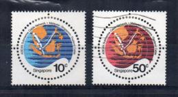 SINGAPORE - 1978 - Cavo Sottomarino - 2 Valori - Usati - (FDC18053) - Singapore (1959-...)