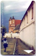 Used Phone Cards Belarus Grodno.Roman Catholic Church And Abbey Of The St.Brigittae`s 100 ED. - Belarus