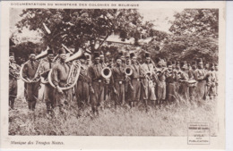 Musique Des Troupes Noires. Documentation Du Ministère Des Colonies De Belgique - Congo Belga - Altri
