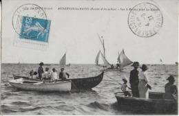 ANDERNOS LES BAINS (La Côte D'Argent ) - Sur Le Bassin D'Arcachon Pour Les Régates ( 1921 ) Cliche Trés Rare - Andernos-les-Bains