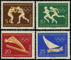 ** Germany - DDR - 1960 - Olympic Games 1960 - Mi. 746-9 - Sommer 1960: Rom