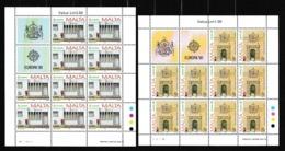 1990 Malta EUROPA CEPT EUROPE 10 Serie Di 2v. MNH** In Minifoglio 2 Minisheets - 1990