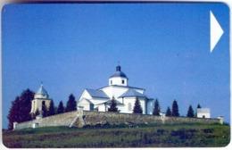 Used Phone Cards Belarus Podlabenje. Church Of Santa Maria 90 ED. - Belarus