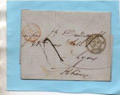 L.A.C. De GENEVE,cachet Rouge SUISSE AMB. M CENIS Pour LYON Le 11/9/65. - Poststempel (Briefe)
