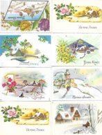 """Lot De 40 Cartes Postales De Voeux """" Bonne Année, Nouvel An """" - Toutes Scannées - Nouvel An"""