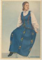 78-375 Norway Hedemark Types  National Costumes Trachten - Noorwegen
