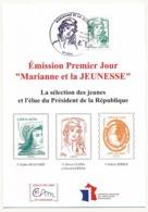 FRANCE - Carte Maximum - Marianne Et La Jeunesse - Lettre Verte - LYON 15/07/2013 - Cartoline Maximum