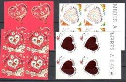France Radhesive Stamps Mnh ** Face Value 12,32 Euros SOUS LA FACIALE - Adhésifs (autocollants)