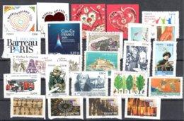 France 23 Adhesive Stamps Mnh ** VENDUS SOUS LA FACIALE - Adhésifs (autocollants)