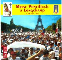 CD N°2843 - MESSE PONTIFICALE A LONGCHAMP LE 24 AOUT 1997 PAR JEAN-PAUL II - COMPILATION 20 TITRES - Chants Gospels Et Religieux