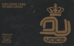 PREPAID CARD MOBILE SERCIVE TOP TONES (BK774 - Schede GSM, Prepagate & Ricariche
