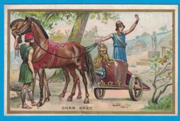 IMAGE CHOCOLAT L. REVAULT / IMP H. LAAS E. PECAUD & Cie PARIS / CHAR GREC - Chocolate