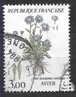 FRANCE 2268 Fleurs De Montagne . Aster . - Used Stamps
