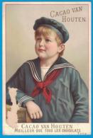 IMAGE CACAO VAN HOUTEN MANUFACTURE ROYALE FABRICANTS C. J. VAN HOUTEN & ZOON A WEEPS-HOLLANDE / ENFANT - Van Houten