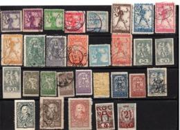 Jugoslawien/Ausg.f.Slowenien, Ab Ca. 1919, Kleine Zusammenstellung Von 30 Unterschiedl. Briefmarken, Ges./mF (17658E) - Slovenia