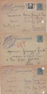 Lot De 3 Entier - Carte Postale - Monaco (voir Photos) - Postal Stationery