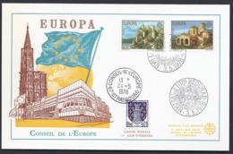 1978 JUGOSLAVIJA YOUGOSLAVIE  EUROPA CEPT CONSEIL DE L'EUROPE FDC CARTE  PREMIER JOUR - 1945-1992 Socialist Federal Republic Of Yugoslavia