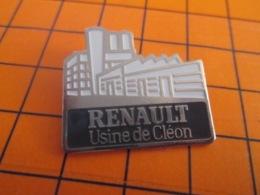1319 Pin's Pins : BEAU ET RARE : Thème AUTOMOBILES / RENAULT USINE DE CLEON - Renault