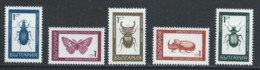 Bulgarie YT 1610-1614 XX / MNH Insecte Insect Animal Wildlife - Bulgarie