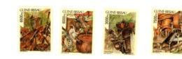 Guinée Bisssau 1995-Huile De Palme,boeuf,poulet,poisson-YT 656/9***MNH - Guinea-Bissau