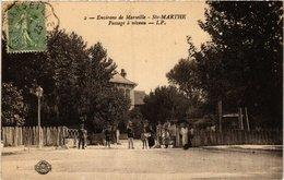 CPA Ste-MARTHE - Passage A Niveau (214988) - Quartieri Nord, Le Merlan, Saint Antoine