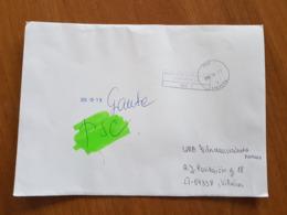 Lithuania Litauen Cover Sent From Vilnius 2019 - Lituania