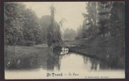 LEGERPOST Postkaart St-Trond - Le Parc / St Truiden - Het Park Ed. Desaix Verzonden Naar JODOIGNE  ; Staat Zie 2 Scans ! - WW I