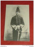 Le Roi  Albert I  En Tenue Militaire - Familles Royales