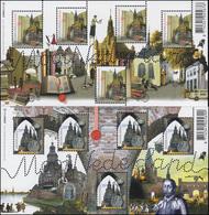 2416-2617A Schöne Niederlande: Deventer Und Zutphen  2006 - Kleinbogen-Satz ** - Niederlande