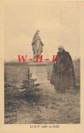 CPA -52 LE PAILLY (Haute Marne) -  Le R. P. LAMY Au Pailly  -  Devant La Statue De La Vierge - Autres Communes