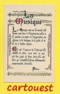 CPA PROVERBE  ☺♦♦  LA MUSIQUE    ♦♦☺ PLATON La Musique Donne Une âme à Nos Coeurs Et Des Ailes à Nos Pensées - Schrijvers