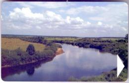 Used Phone Cards Belarus Neman River 240 ED. - Belarus