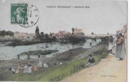 CPA De VIERZON  BOURGNEUF - Bords Du Cher - Vierzon