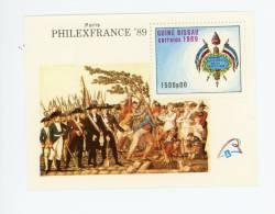 Guinée Bissau-Philexfrance 89-Bicentenaire Révolution Française -Bloc 67***MNH- - Franz. Revolution