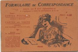 Formulaire De Correspondance Pour Cartes Postales Albin Michel éditeur 22,rue Huyghens Paris  ( 2775) - Altri