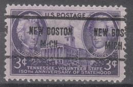 USA Precancel Vorausentwertung Preo, Locals Michigan, New Boston 713 - Vereinigte Staaten