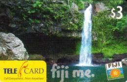 FIJI $3 WATERFALL  LANDSCAPE  2007  ISSUE !!! READ DESCRIPTION !! - Figi