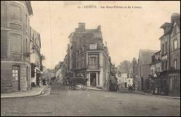 Lisieux - Les Rues D'Orbec Et De Livarot CPA 1907 - Lisieux