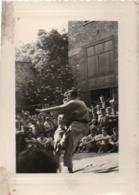 910Cr  Photo Lutte Arts Martiaux Deux Hommes En Kimono - Wrestling